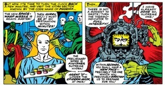 #42 Panel Gallery: Jack Kirby's Gadgets of S.H.I.E.L.D. (And HYDRA, Too!)   MulderComicReport   Scoop.it