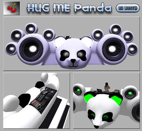 Full Perm Mesh Panda DJ Booth by {XO} | Teleport Hub | Second Life Freebies | Scoop.it