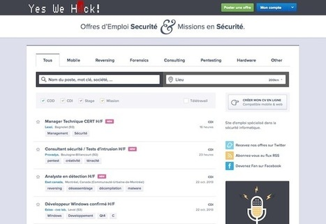 Besoin de recruter un hacker? | 16s3d: Bestioles, opinions & pétitions | Scoop.it