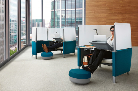 Steelcase Charges Up Personalized Pod-Like Office Spaces | Office Environments Of The Future | Scoop.it