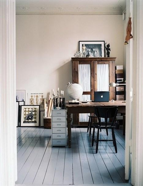 Un bureau industriel en Suède #deco | @DecoCrush : idées déco pour tous | décoration & déco | Scoop.it