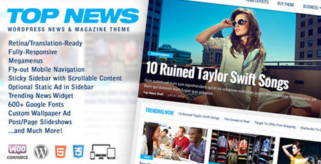 Top News v1.03 – WordPress News & Magazine Theme - themeloud.com | Free Download Premium Wordpress Themes and Plugin | Scoop.it