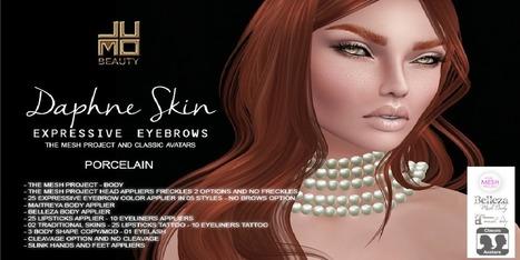 Daphne Skin Porcelain - NessMarket | 亗 Second Life Freebies Addiction & More 亗 | Scoop.it
