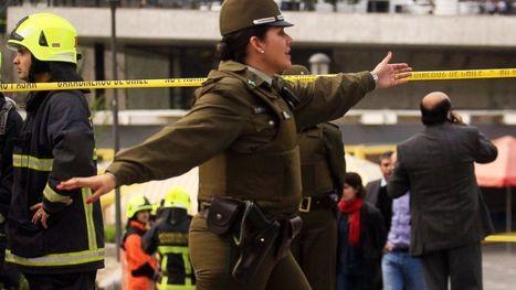 Chile Blames Terrorists After Bomb Blast Hurts 14 - ABC News   CLOVER ENTERPRISES ''THE ENTERTAINMENT OF CHOICE''   Scoop.it