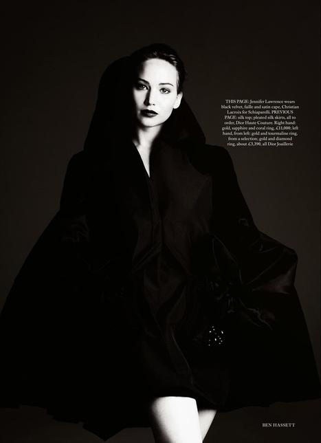 See Jennifer Lawrence's Beautiful New Harper's Bazaar Photo Shoot In Full - BuzzFeed | Hunger games | Scoop.it
