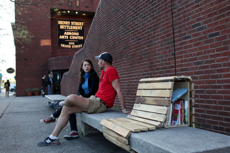 With Tiny Libraries, Bringing Free Literature to the Streets | books in the news | Scoop.it