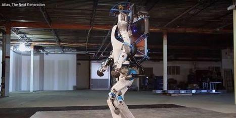 Le nouveau robot humanoïde qui tombe, se relève, et ouvre les portes | Innovation - Transfert de technologies | Scoop.it