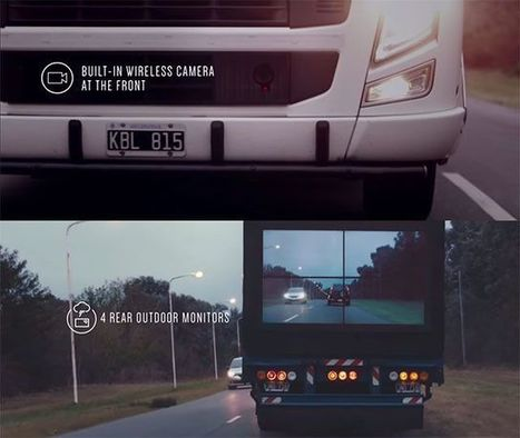 "Samsung Safety Truck, i camion con fotocamera frontale e live view posteriore | L'impresa ""mobile"" 