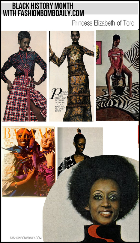 Black History Month with Fashion Bomb Daily: Princess Elizabeth of Toro | Black Fashion Designers | Scoop.it