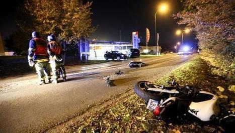 Fourmies: la voiture percute une moto en sortant du lavage: une ... - La Voix du Nord | Accident deux roues motorisés | Scoop.it