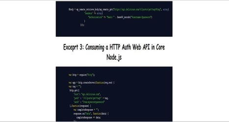 Securing Web APIs: The Basics with Node.js Examples - InfoSec Institute | Node.js | Scoop.it