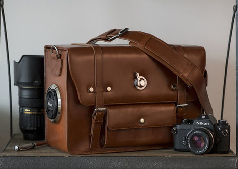 Emissary Camera Bags Feature a Stylish Design and an Innovative Lens Cap Holder | L'actualité de l'argentique | Scoop.it