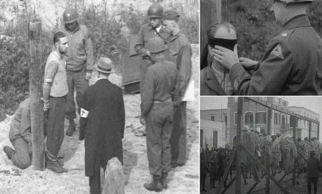 Death row in wartime: British Pathe releases harrowing archive footage of executions during conflicts across the world | British Genealogy | Scoop.it