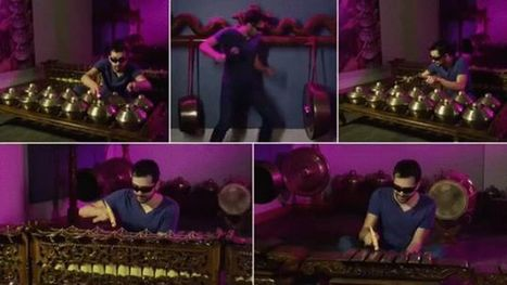 Watch a Guy Use 90 Instruments to Play a Single Song | Strange days indeed... | Scoop.it