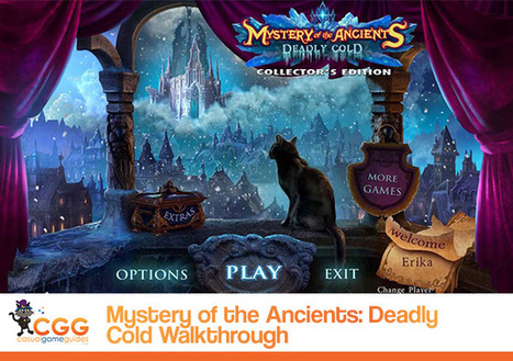 Mystery of the Ancients: Deadly Cold Walkthrough: From CasualGameGuides.com | Casual Game Walkthroughs | Scoop.it