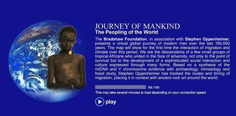 JOURNEY OF MANKIND - The Peopling of the World   Human Interest   Scoop.it