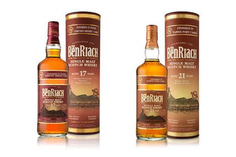 BenRiach 17 ans Pedro Ximenez Sherry Wood Finish et 21 ans Tawny Port Wood Finish | Malts et Houblons, le site des passionnés de bière et de whisky | Gastronomie et plaisirs gourmands | Scoop.it