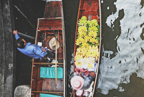 Take a Float Through This Thailand Market | Creating long lasting friendships through adventure travel | Scoop.it