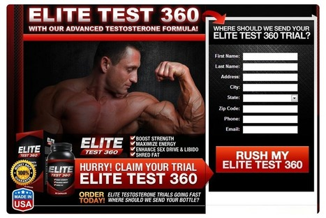 Read Elite Test 360 Review First Before Buying!! Is It an Effective Supplement?? | Get Ripped and Effective muscles with high energy!! | Scoop.it