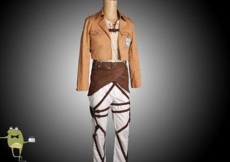 Attack on Titan Eren Jaeger Cosplay Costume | Attack on Titan Cosplay Costumes | Scoop.it