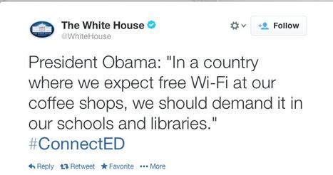 Tweet from @WhiteHouse   EDCI397   Scoop.it