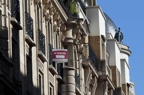 Immobilier francilien : la baisse des prix est enclenchée | Veille Marketing Banque | Scoop.it