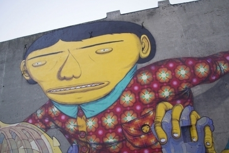 Os Gemeos and Aryz Collaborate on a Mural Worth Revisiting (Poland) | Murals | Scoop.it