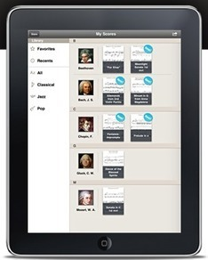 New Music app for the iPad – :Tonara | TeacherCast Apps for Education | Scoop.it