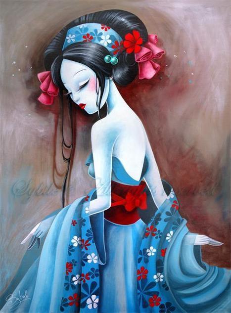 Sybile | Painter | Illustrator | les Artistes du Web | Scoop.it