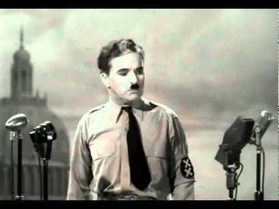 The Great Dictator (1940) - Charlie Chaplin - Final Speech - Music - Hans Zimmer - Time - Subtitles | aluminum garage door | Scoop.it