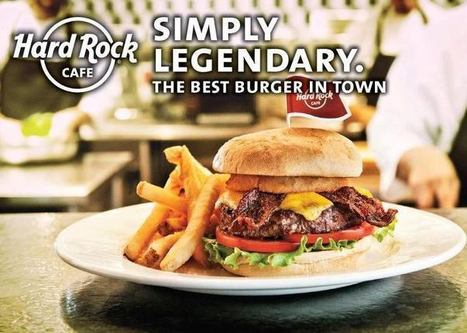 Hard Rock Café, Rock e hambúrgueres americanos! | Viagem Mundo | Hopster | Scoop.it
