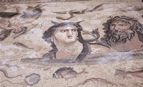 New mosaics unearthed in ancient city of Zeugma | Monde antique | Scoop.it