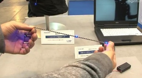 Elastic USB Cables Can Transfer Power and Data--and Stretch | Technology and Gadgets | Scoop.it