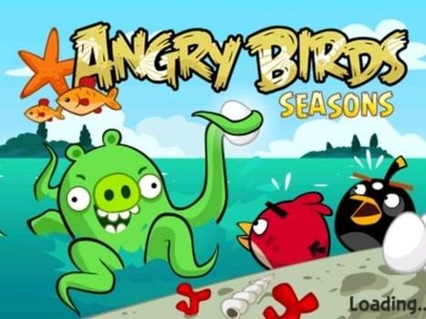 Angry Birds Seasons : 30 nouveaux niveaux avec de l'eau dedans   Geeks   Scoop.it