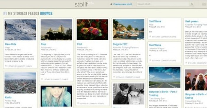 Publish Your Own Personal Stories with Stolif | Business in a Social Media World | Scoop.it