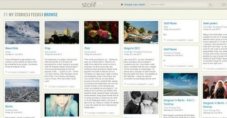Publish Your Own Personal Stories with Stolif | Medialia | Scoop.it