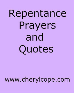 Repentance Prayers and Quotes | Cheryl Cope | Christian Devotionals | Scoop.it