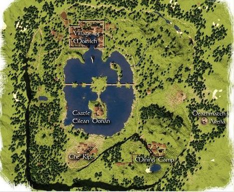 Eilean Donán Survival Game Map Minecraft 1.5.2/1.6 | Minecraft Download free | Scoop.it