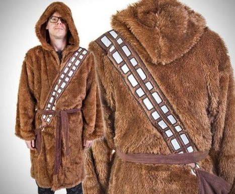 Chewbacca Robe Will Make You Warm and Fuzzy! | codice a mano | Scoop.it