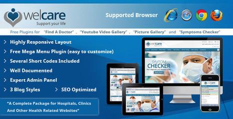 Welcare Responsive Medical Wordpress Theme   Medical wordpress themes   Scoop.it