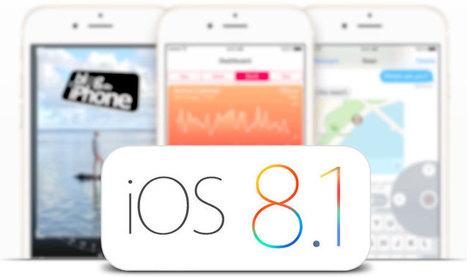 Já está disponível a versão pública do iOS 8.1 (links diretos) | Apple iOS News | Scoop.it