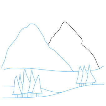 How to Draw Mountains | Fun Drawing Lessons for Kids & Adults | Drawing and Painting Tutorials | Scoop.it