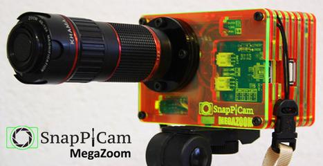 Kickstarter Brings Interchangeable Lenses to the Raspberry Pi Camera with Fun ... - PetaPixel | Raspberry Pi | Scoop.it