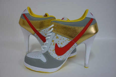 Nike Dunk SB Low Heels Gold/Red/White | popular and new list | Scoop.it