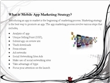Successful Mobile App Marketing Strategy to target your Mobile Consumers | mobile marketing | Scoop.it