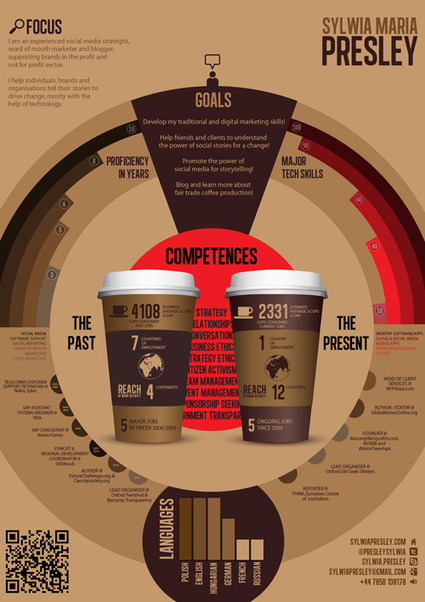 HOW TO make your Infographic CV [Infographic]   Social media and education   Scoop.it