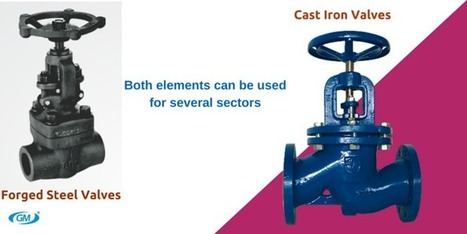 Different Between Forged Steel Valves And Cast Iron Valves   Valve manufacturers and exporters in India   Scoop.it