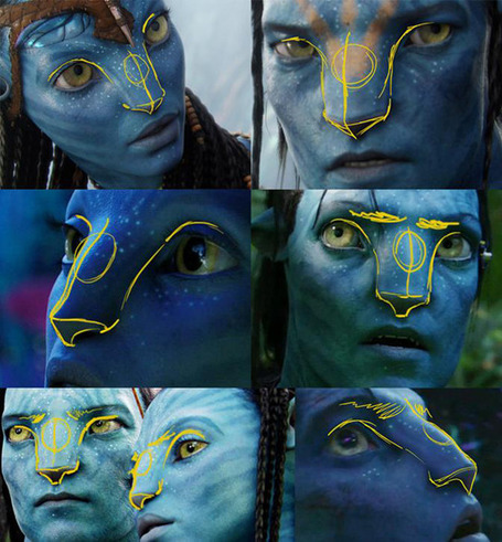Angelina Jolie as a Na'vi from Avatar Movie | Photoshop Tutoriels | Scoop.it