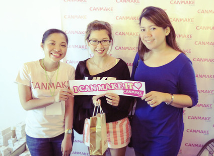 CANMAKE at the Rockwell Urban Bazaar | Japanese Beauty Products | Scoop.it