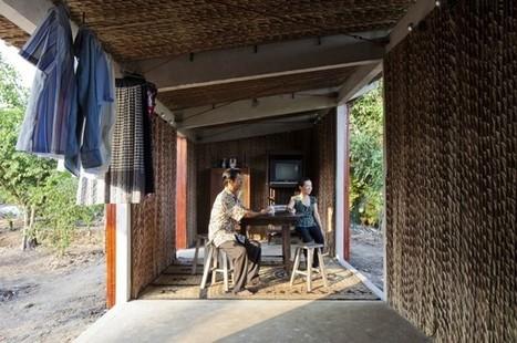 Feuilles de palmier, bambou et béton: la recette asiatique pour une maison à 3000 euros | construction durable | Scoop.it